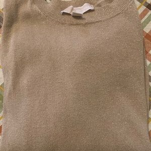 L MiICHAEL Michael Kors Gold Sweater